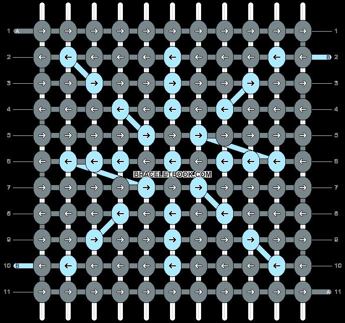 Alpha pattern #9089 pattern
