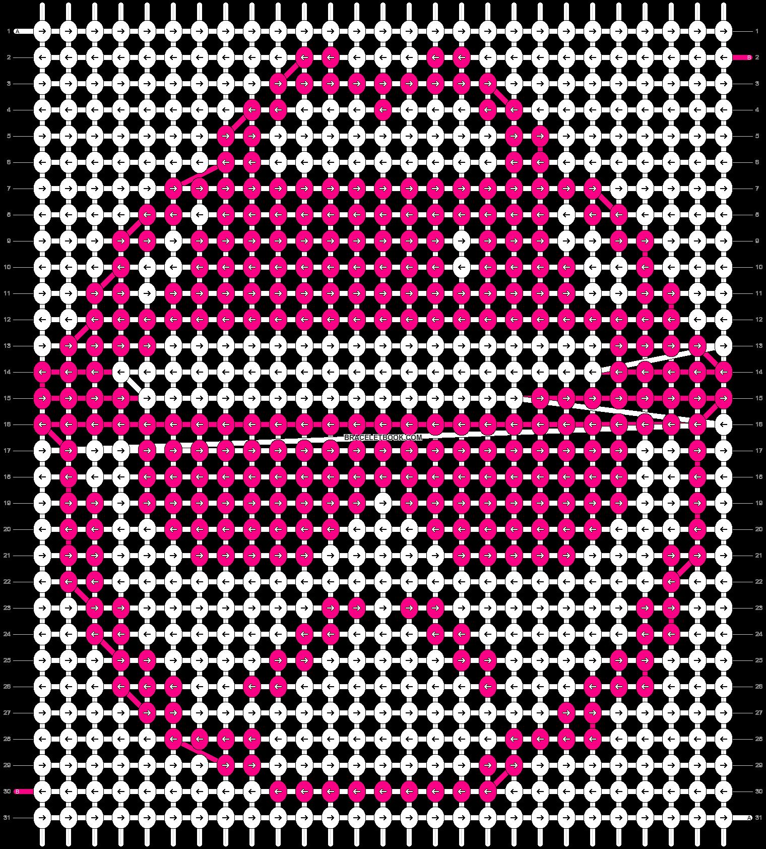 Alpha pattern #9092 pattern