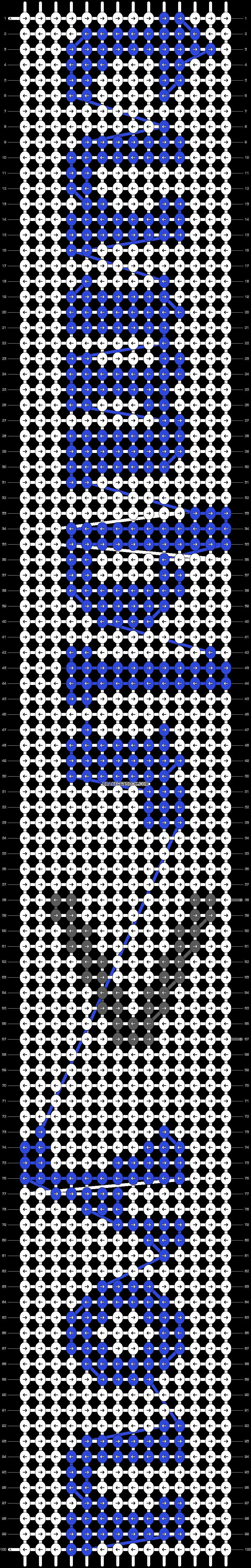 Alpha pattern #9094 pattern