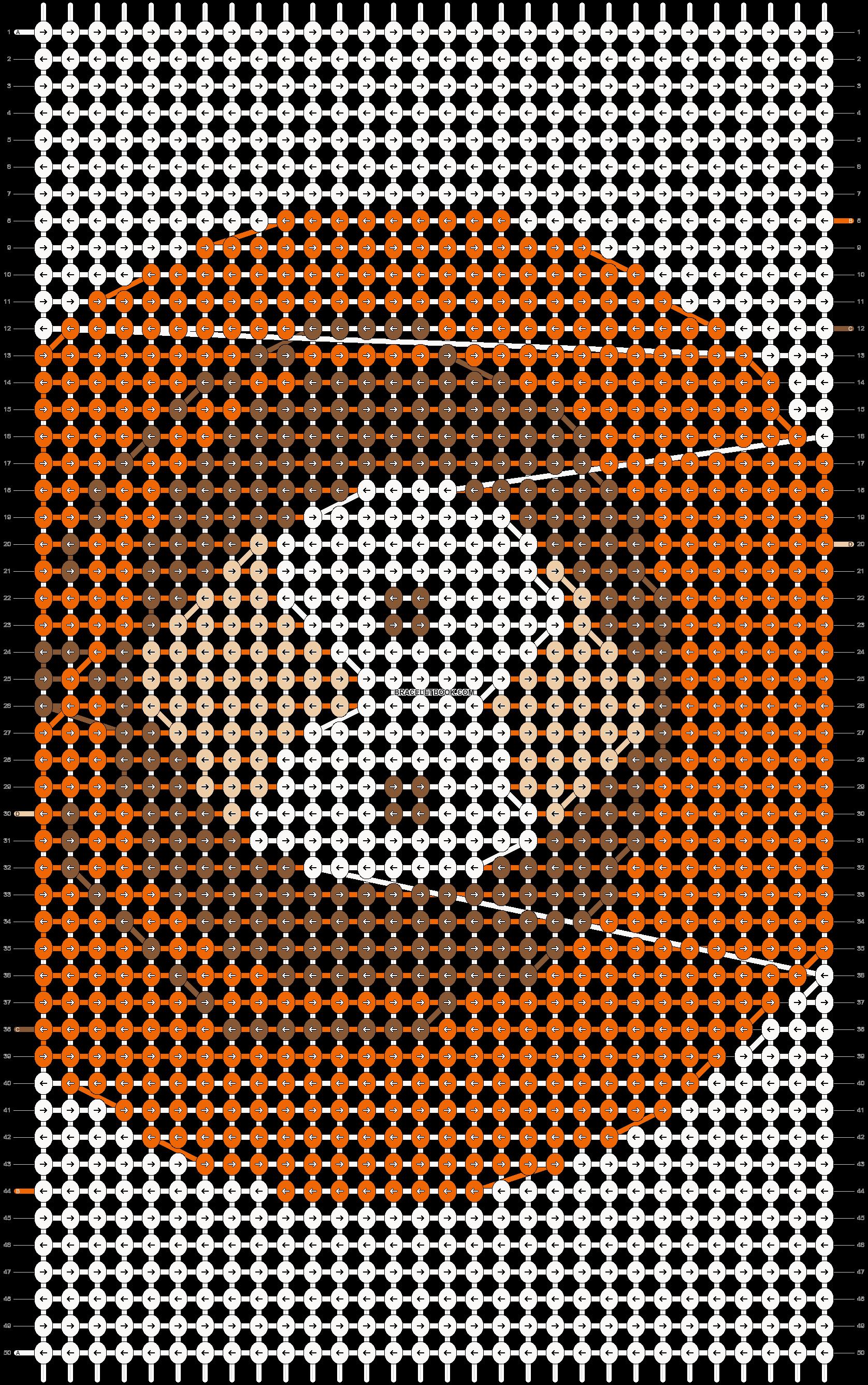 Alpha pattern #9095 pattern