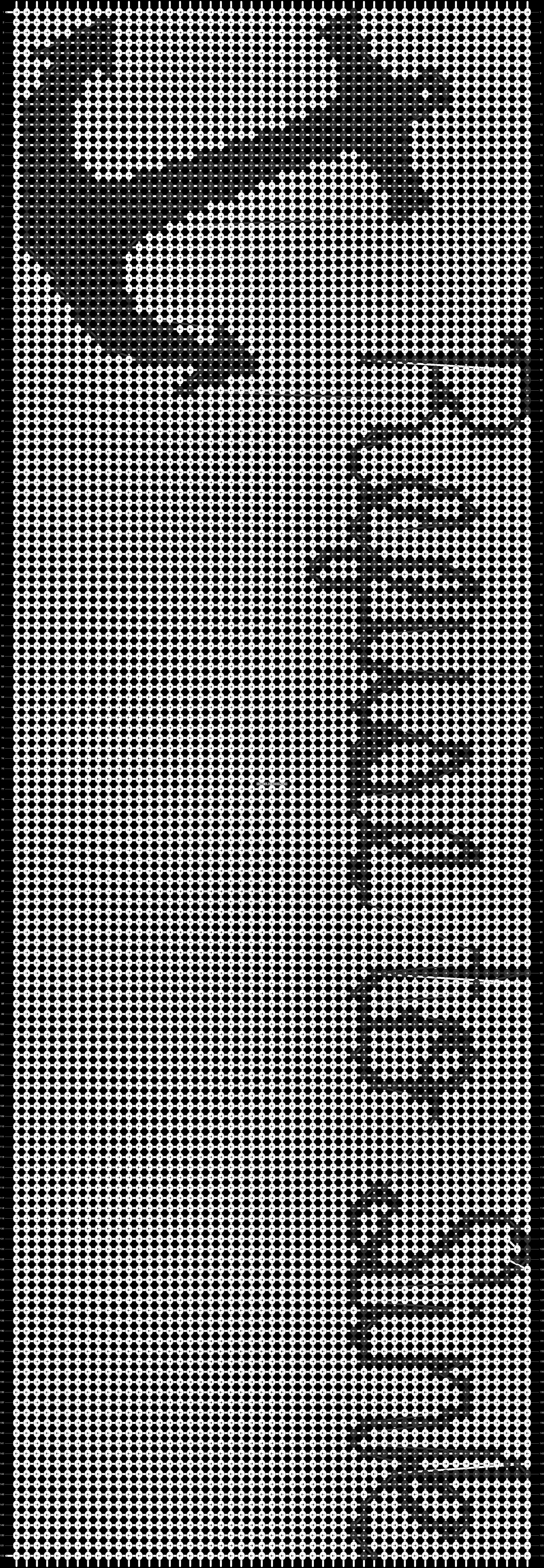 Alpha pattern #9097 pattern