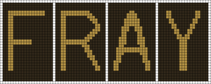Alpha pattern #9100