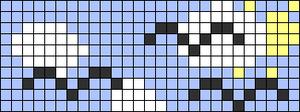 Alpha pattern #9102