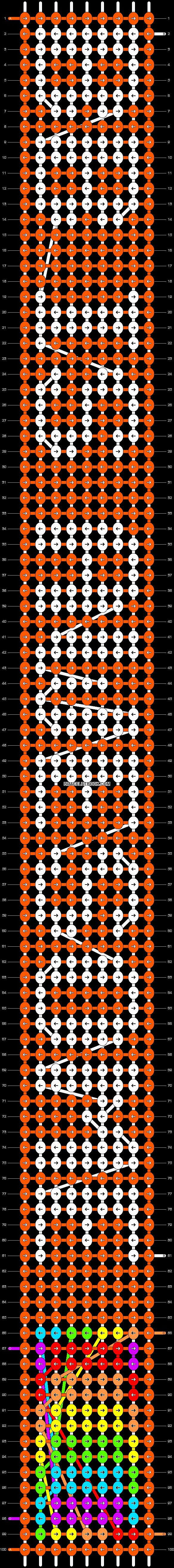 Alpha pattern #9106 pattern