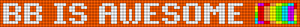 Alpha pattern #9106