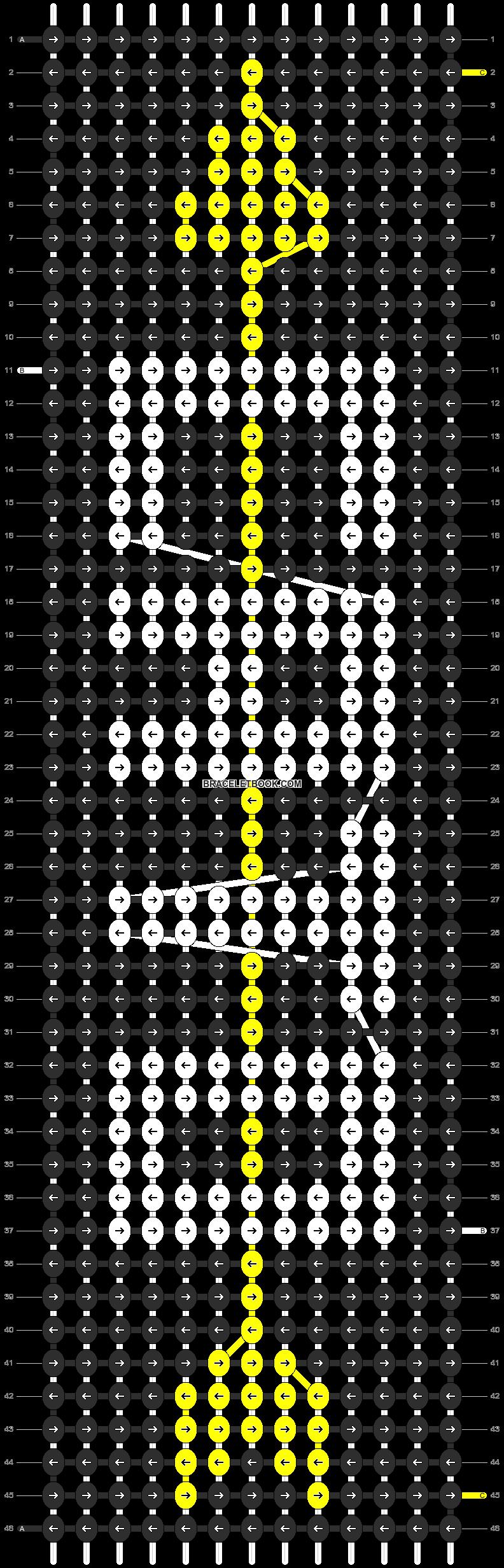 Alpha pattern #9108 pattern