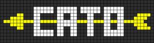 Alpha Friendship Bracelet Pattern #9108