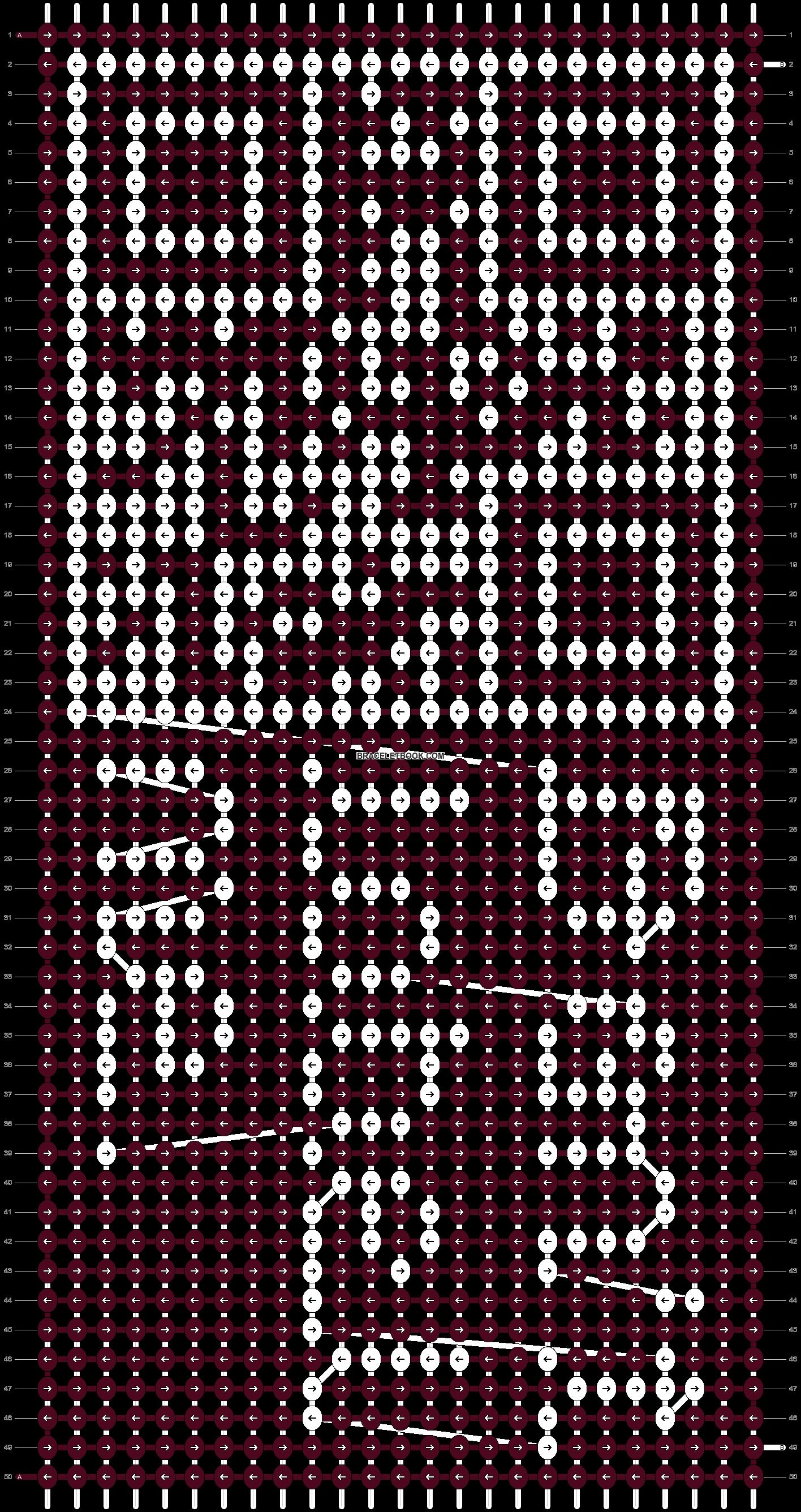 Alpha pattern #9110 pattern