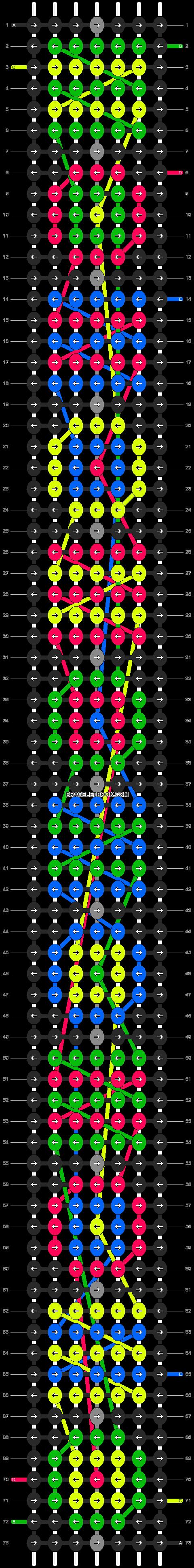 Alpha pattern #9117 pattern