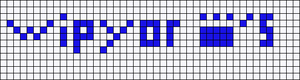 Alpha pattern #9118