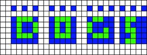 Alpha pattern #9120