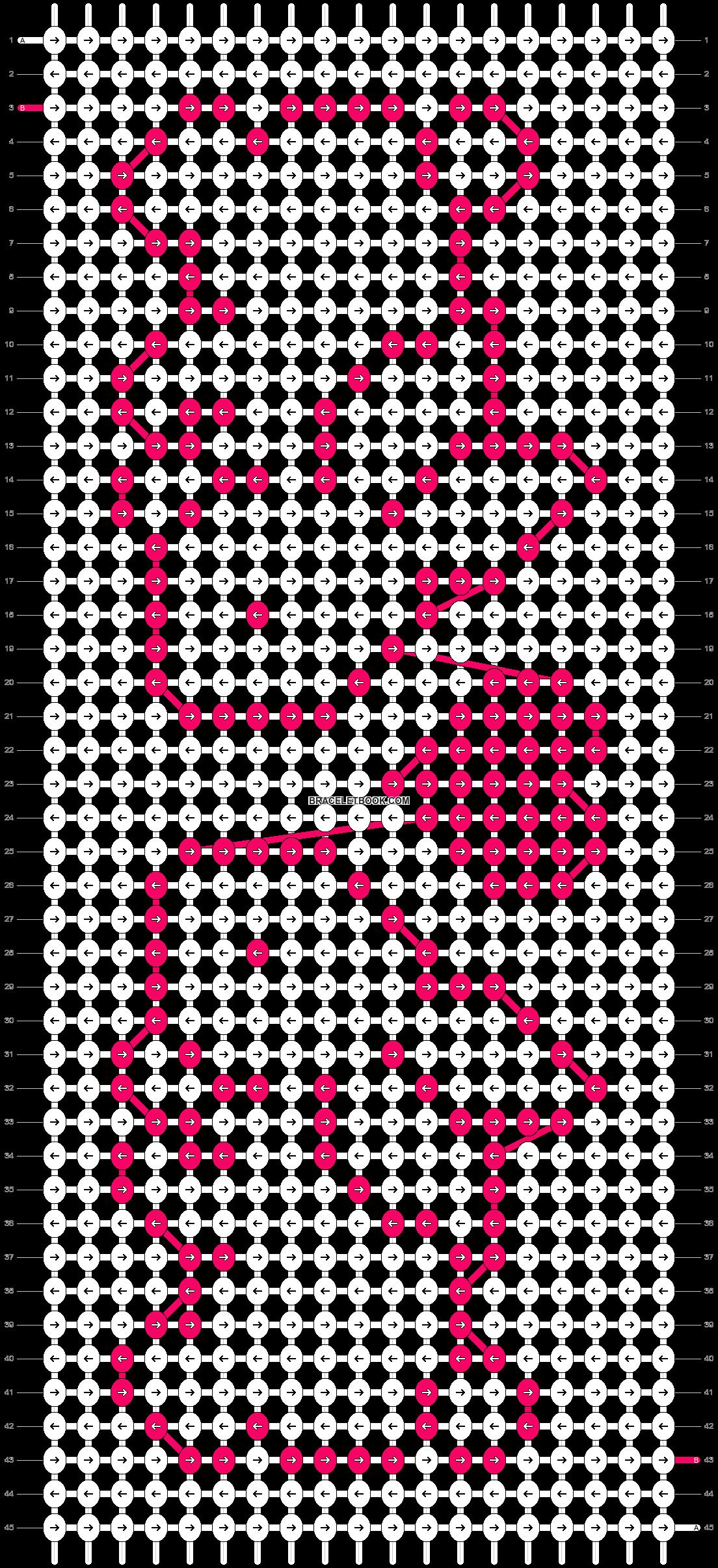 Alpha pattern #9125 pattern