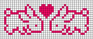 Alpha pattern #9125