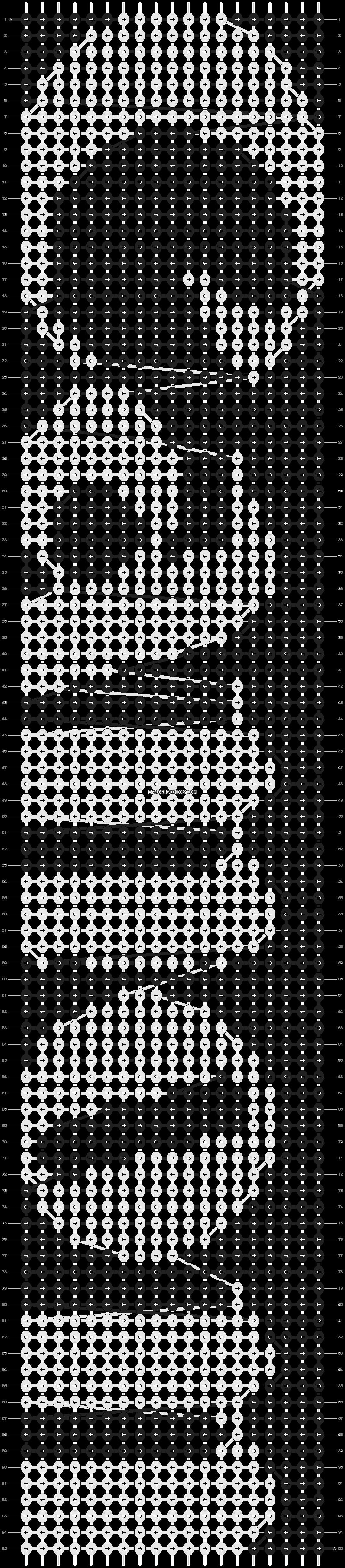 Alpha pattern #9126 pattern