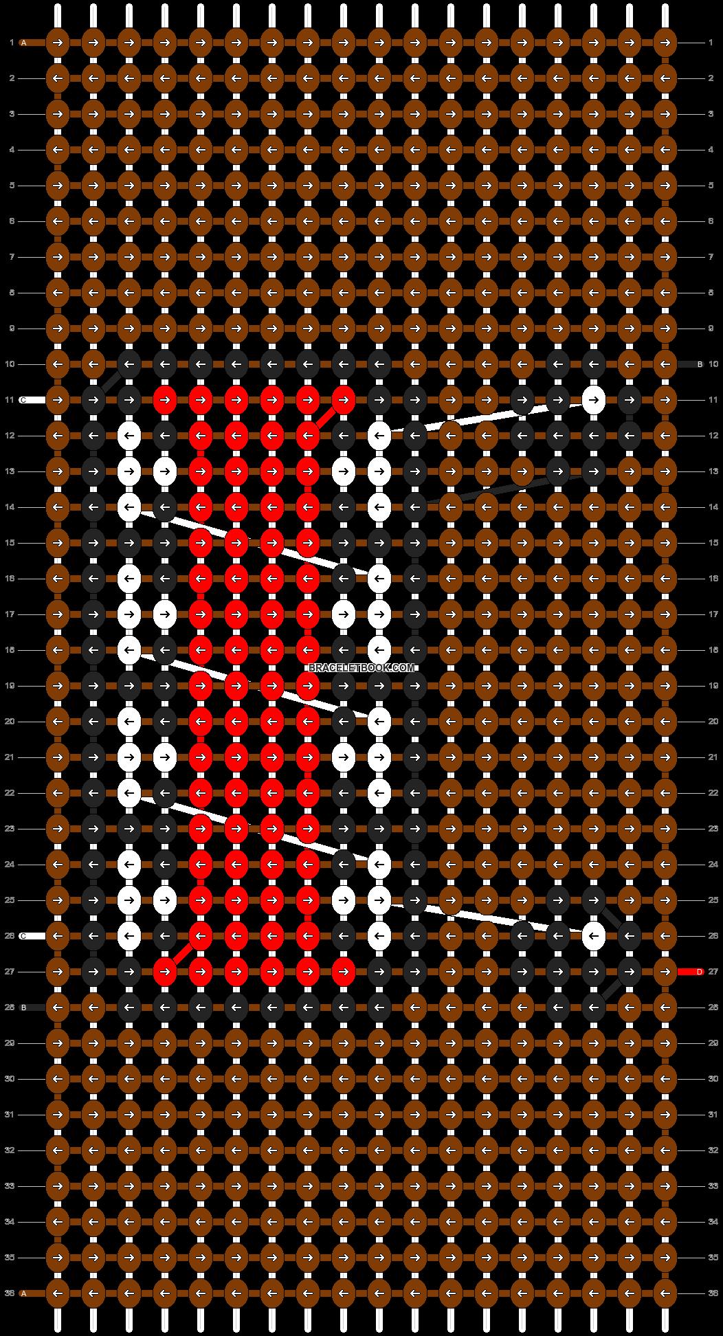 Alpha pattern #9141 pattern
