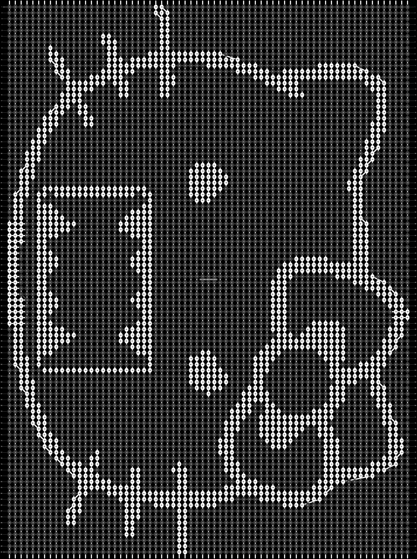 Alpha pattern #9143 pattern