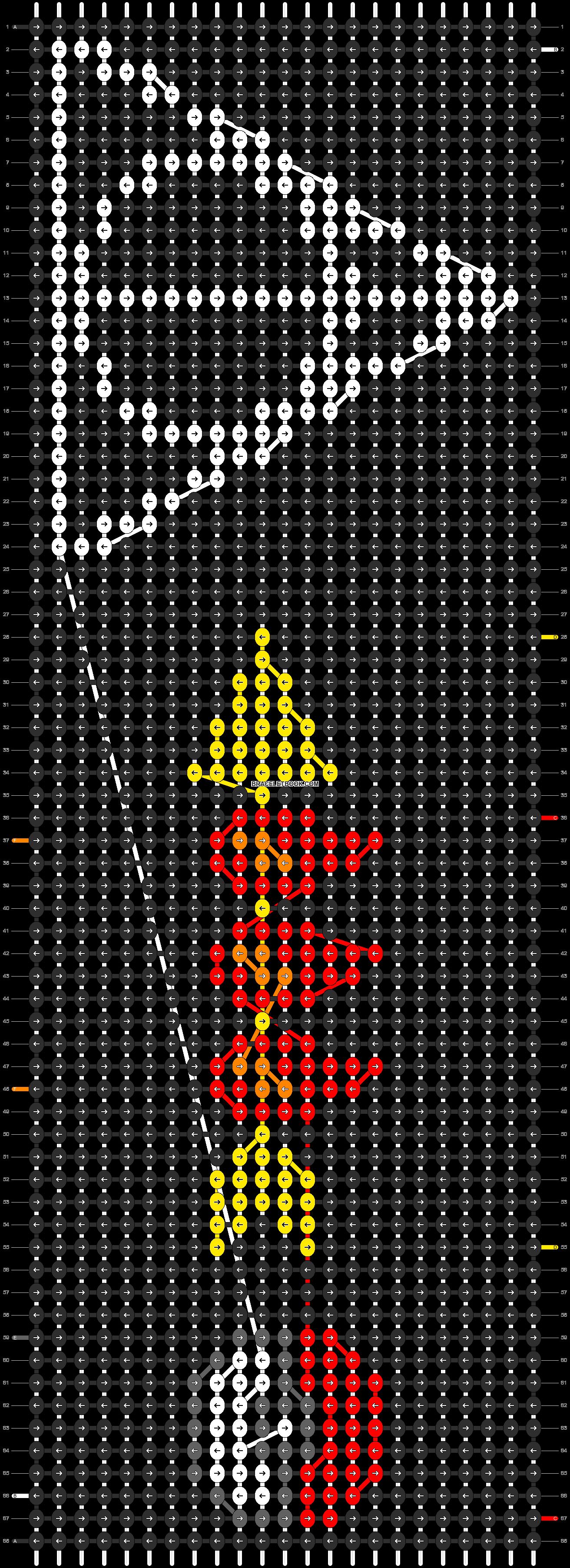 Alpha pattern #9145 pattern