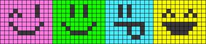 Alpha Friendship Bracelet Pattern #9148
