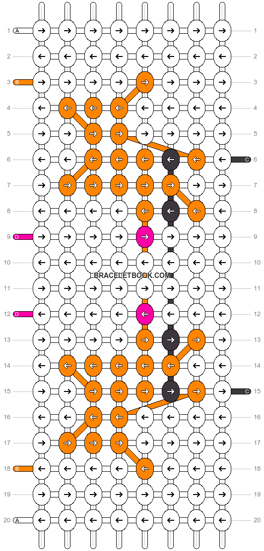 Alpha pattern #9150 pattern