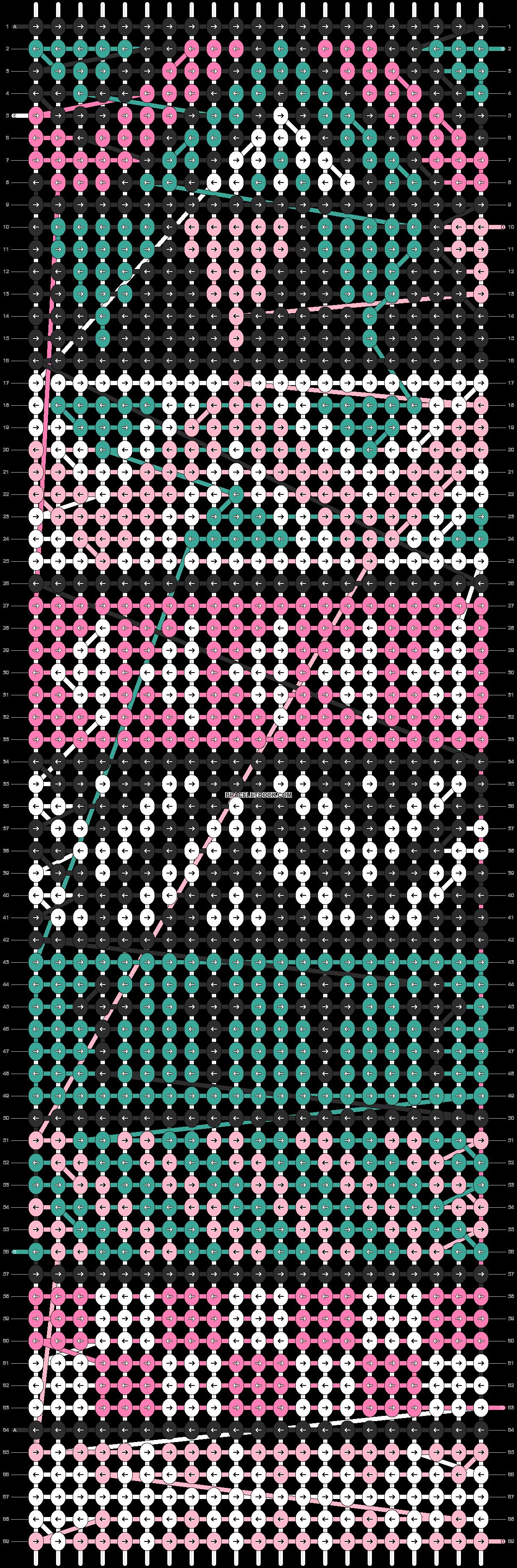 Alpha pattern #9153 pattern