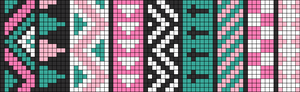 Alpha pattern #9153