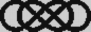 Alpha pattern #9158
