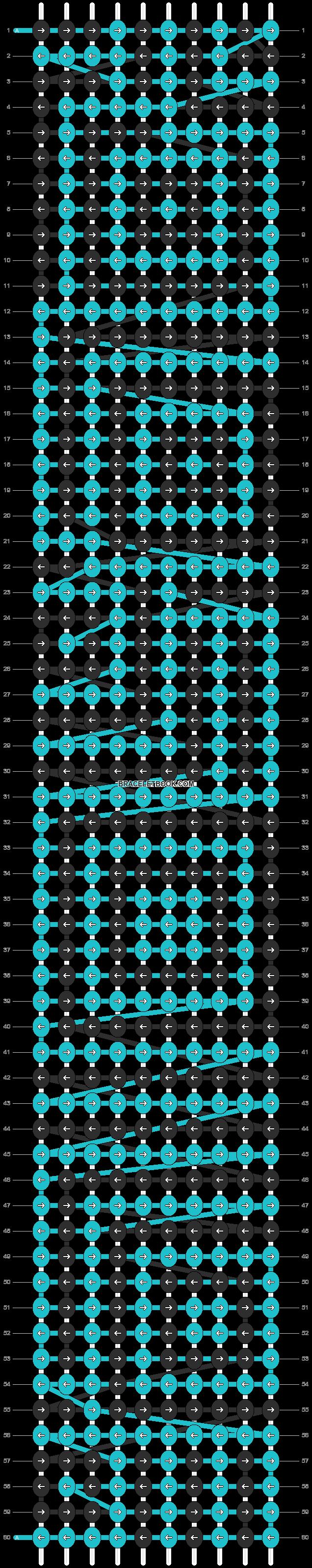 Alpha pattern #9161 pattern
