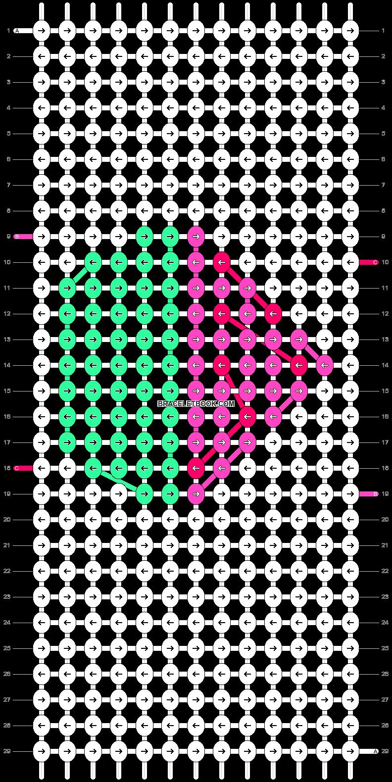 Alpha pattern #9167 pattern