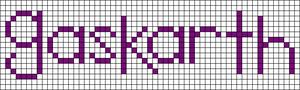 Alpha Friendship Bracelet Pattern #9176