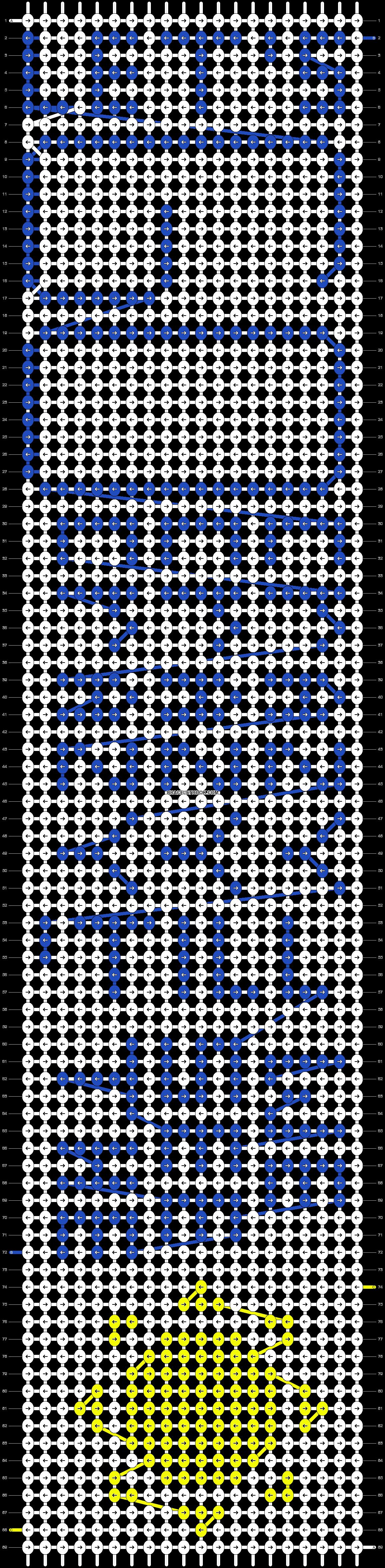 Alpha pattern #9177 pattern