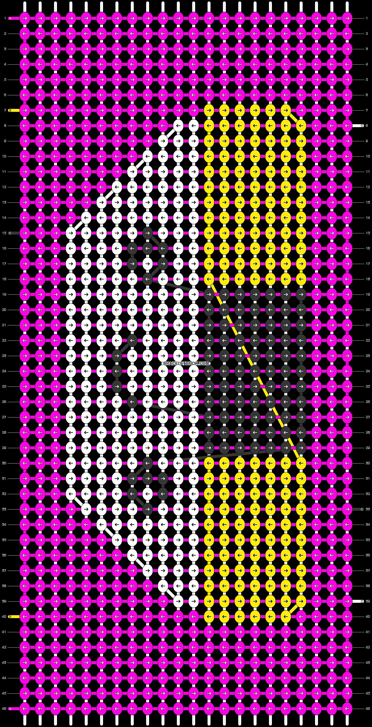 Alpha pattern #9178 pattern