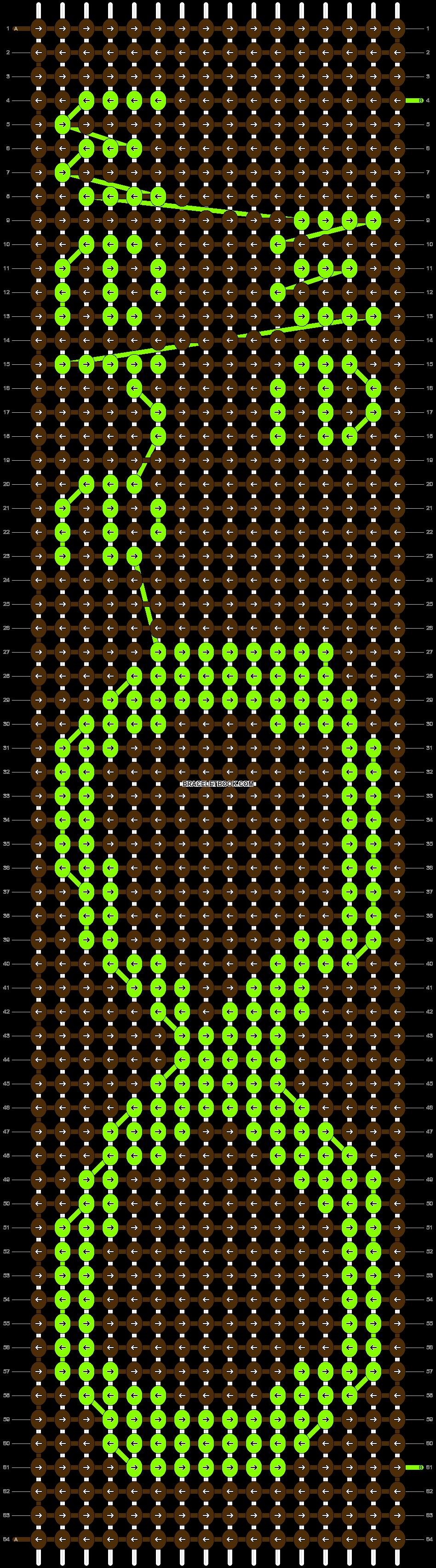 Alpha pattern #9196 pattern