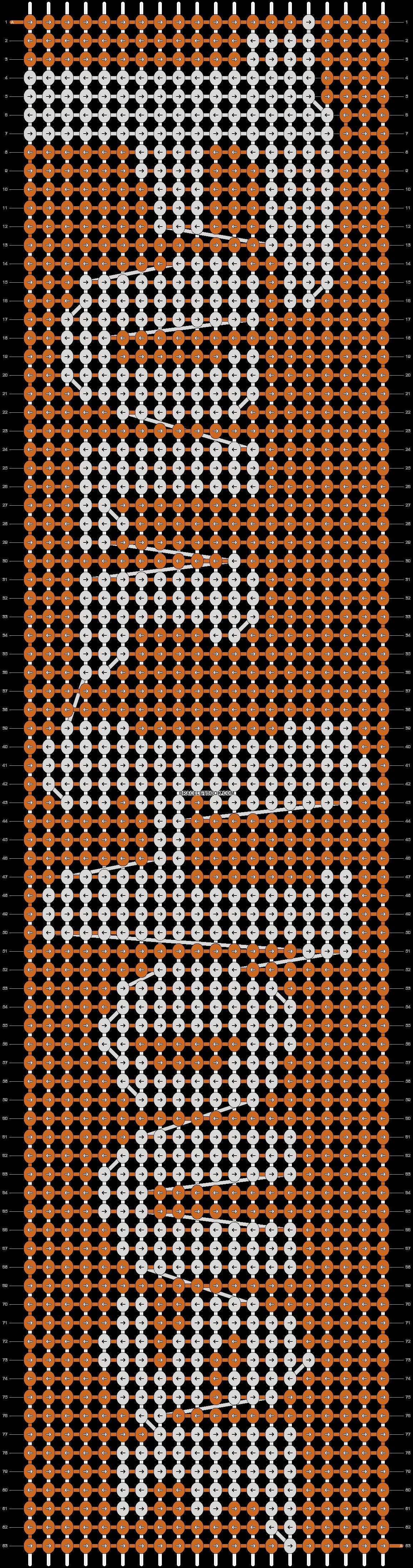 Alpha pattern #9203 pattern