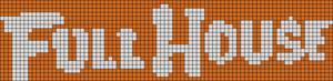 Alpha Friendship Bracelet Pattern #9203