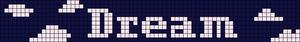 Alpha Friendship Bracelet Pattern #9205