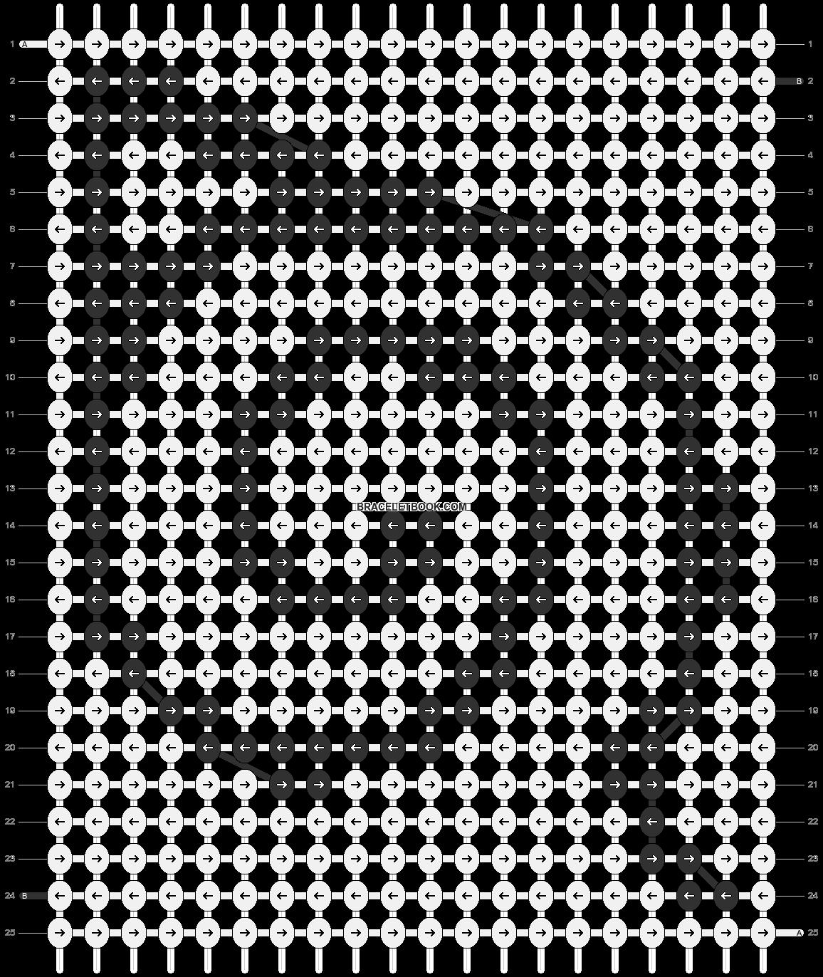 Alpha pattern #9209 pattern
