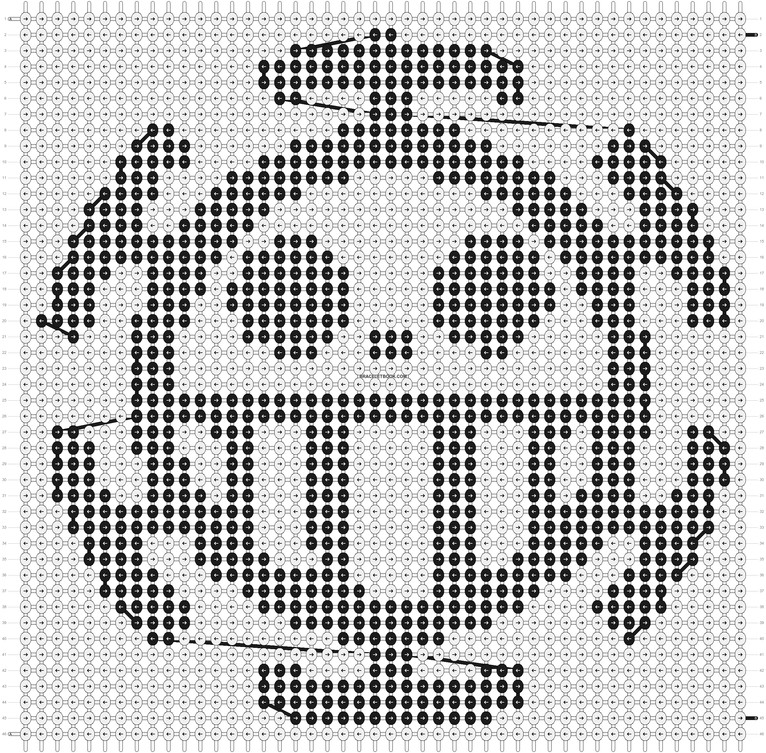 Alpha pattern #9217 pattern