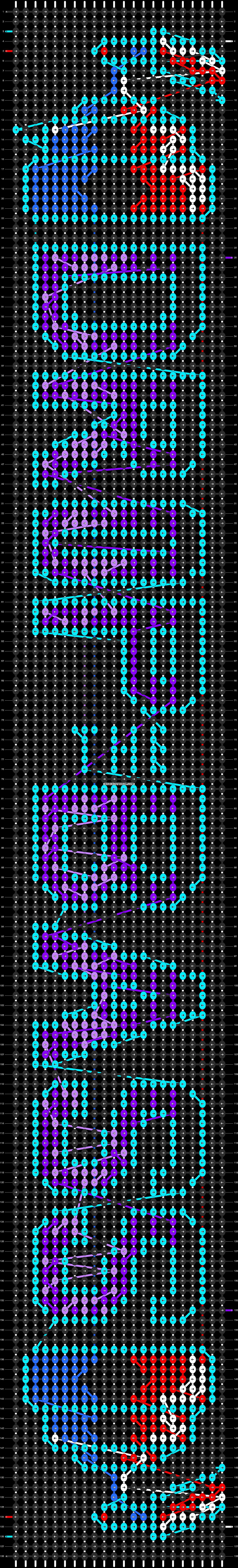 Alpha pattern #9218 pattern