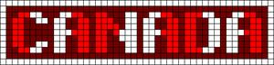 Alpha Friendship Bracelet Pattern #9219