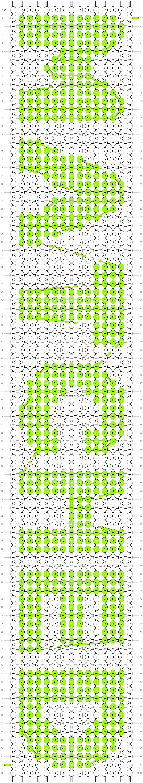 Alpha pattern #9220 pattern