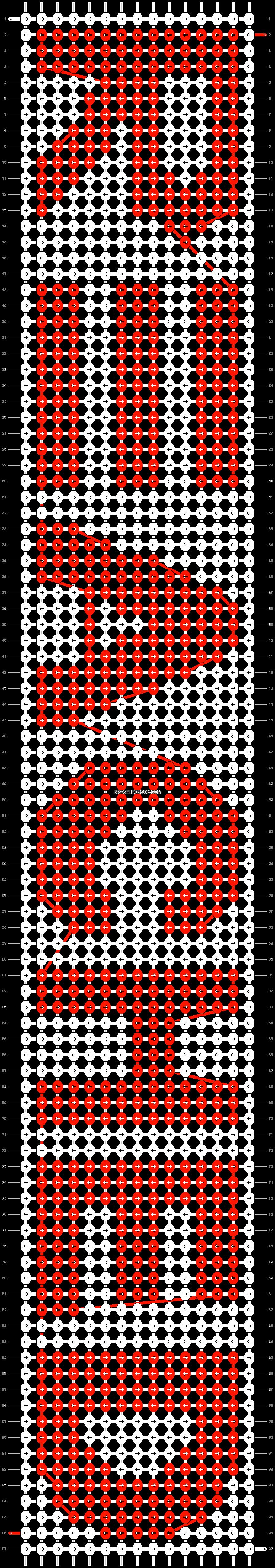 Alpha pattern #9222 pattern