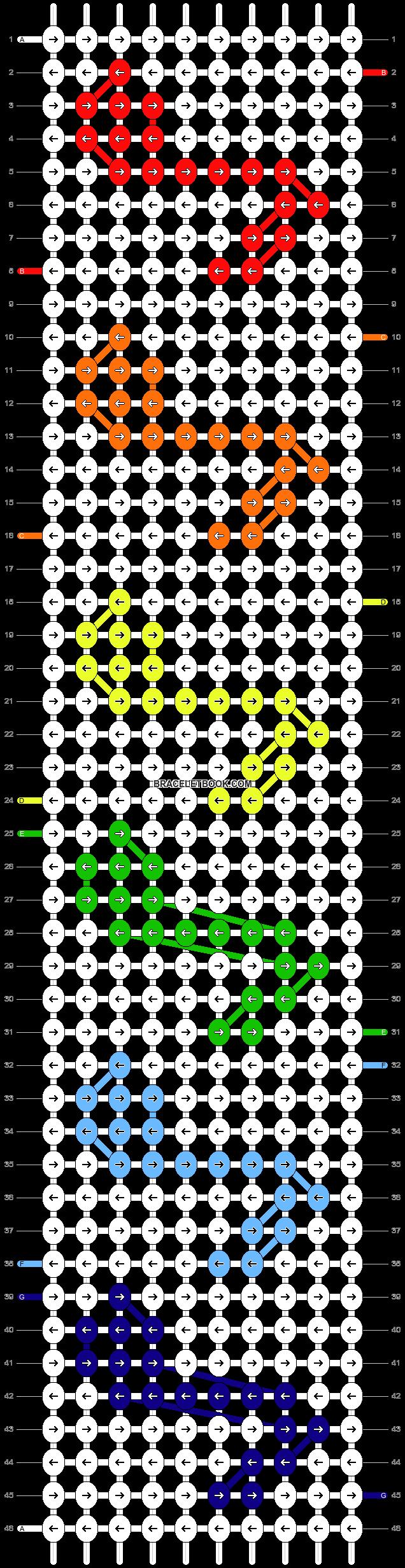 Alpha pattern #9224 pattern