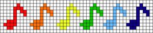Alpha Friendship Bracelet Pattern #9224