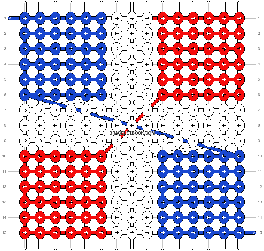 Alpha pattern #9226 pattern