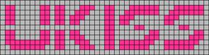 Alpha Friendship Bracelet Pattern #9227