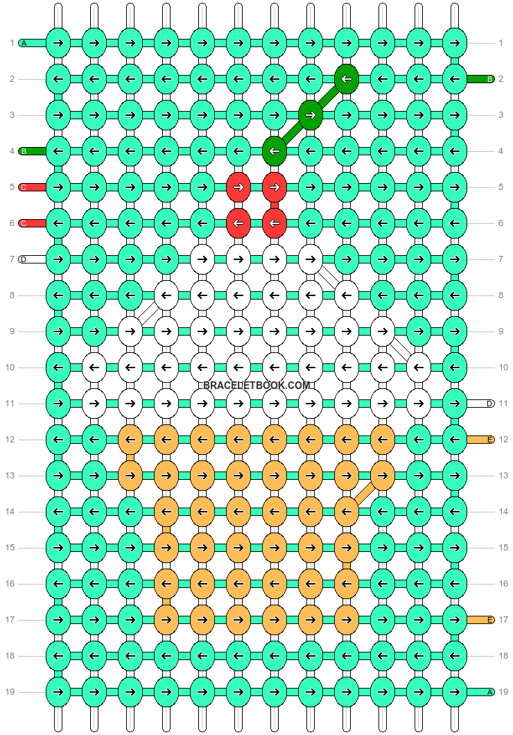 Alpha pattern #9229 pattern
