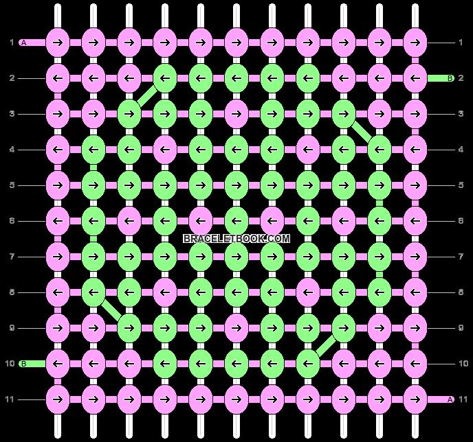 Alpha pattern #9231 pattern
