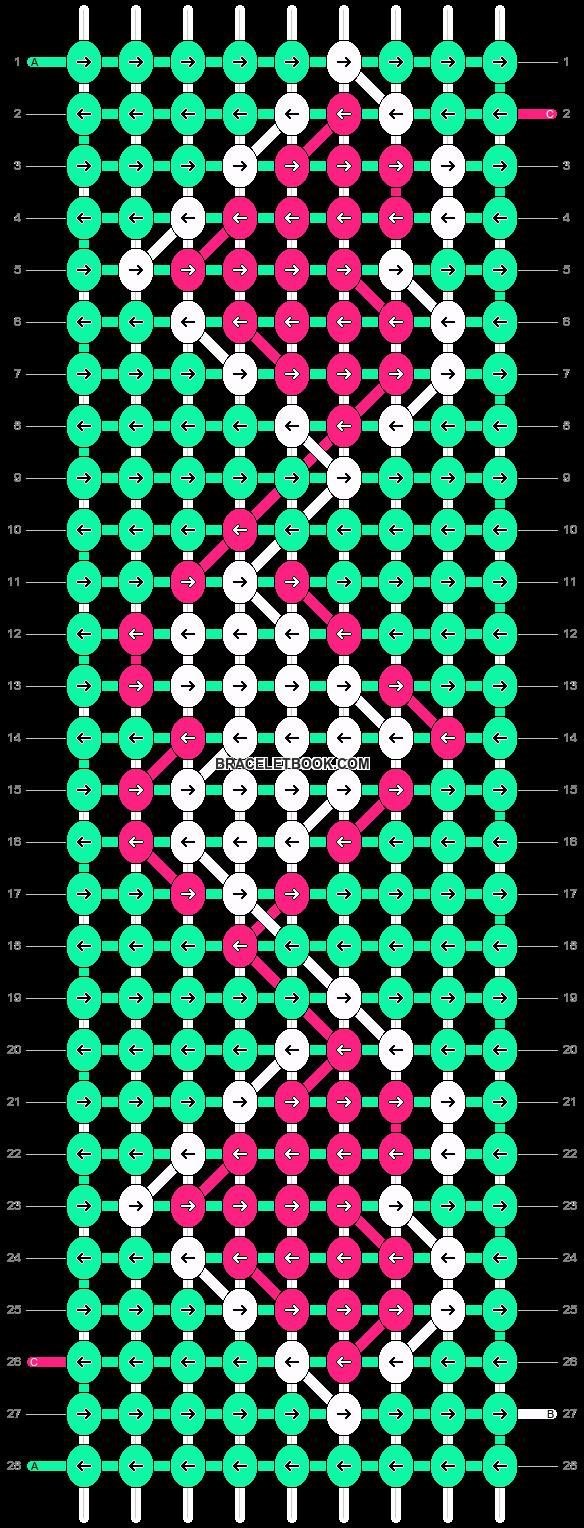Alpha pattern #9237 pattern