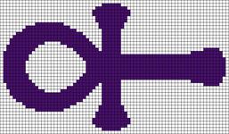 Alpha Friendship Bracelet Pattern #9249