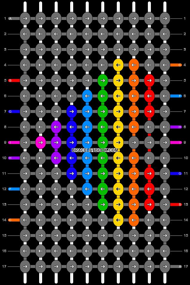 Alpha pattern #9253 pattern